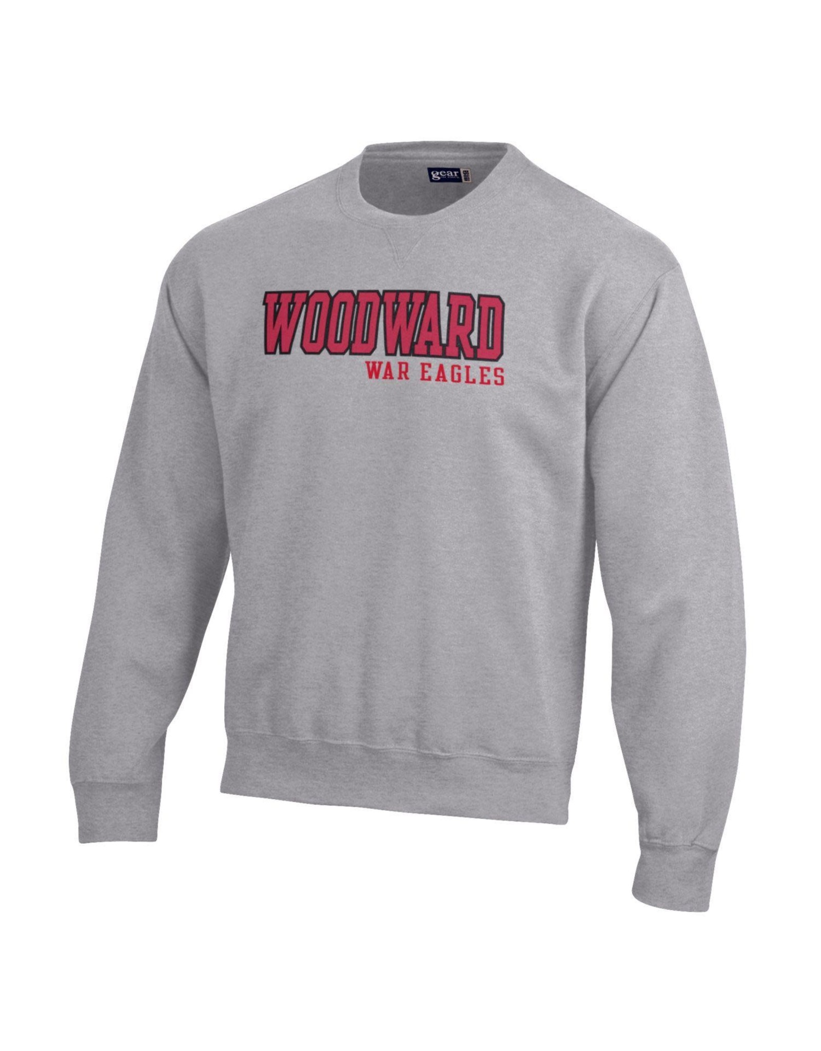 Gear for Sports Woodward Big Cotton Crew in Oxford Grey
