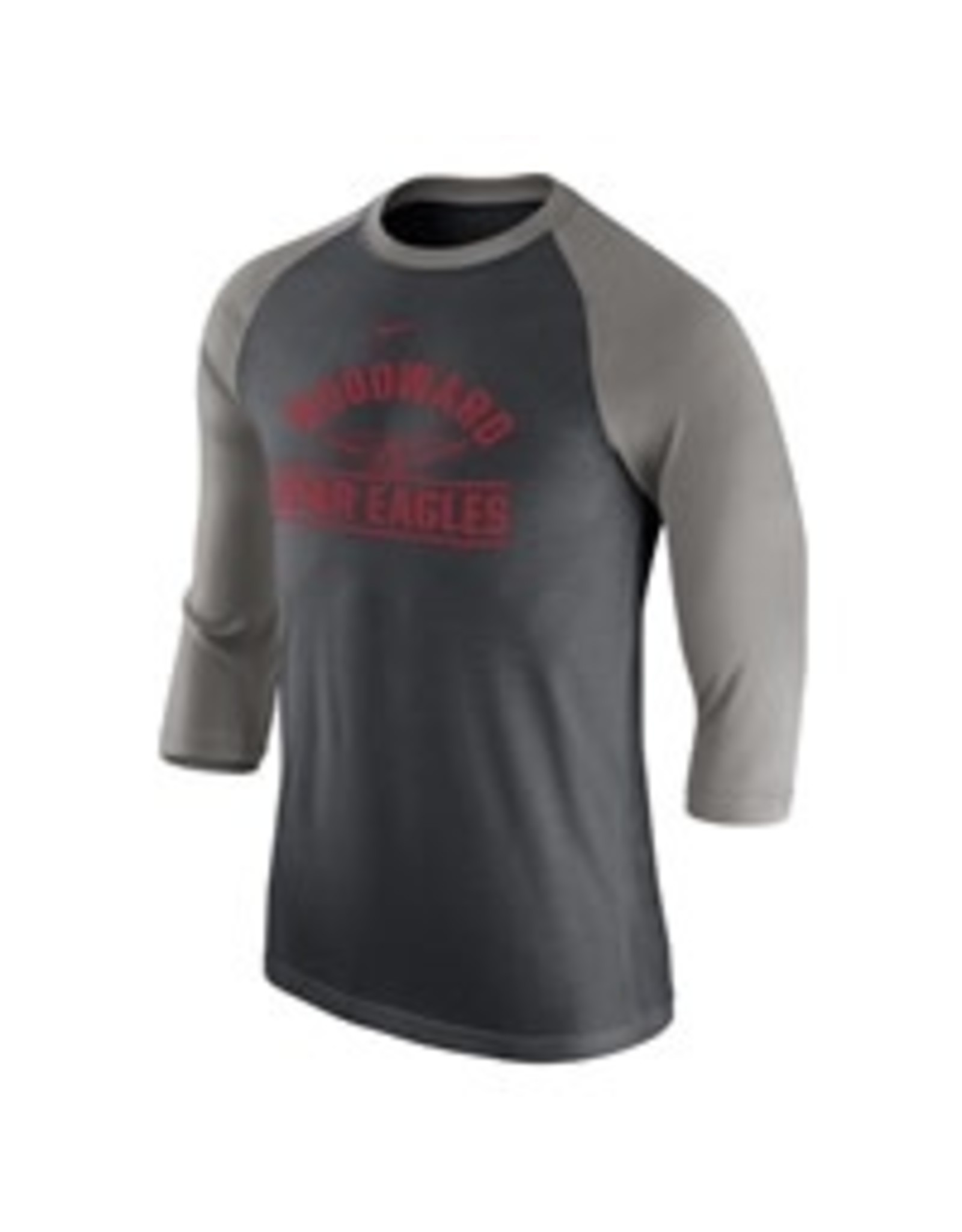 NIKE Raglan Tri-Blend 3/4 Sleeve T Shirt (2 Colors)