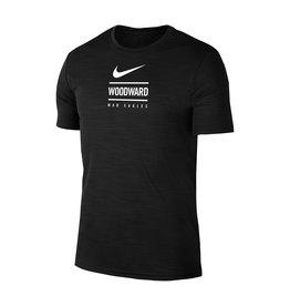 NIKE Intensity Dri-Fit SS T Shirt in Black