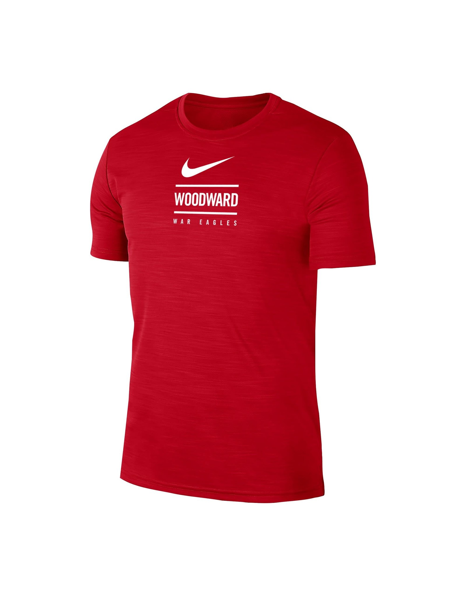 NIKE Intensity Dri-Fit SS T Shirt in Red