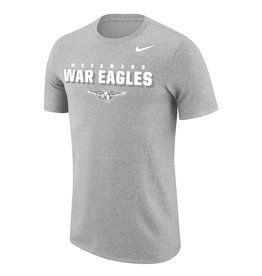NIKE Marled SS T Shirt in Wolf Grey