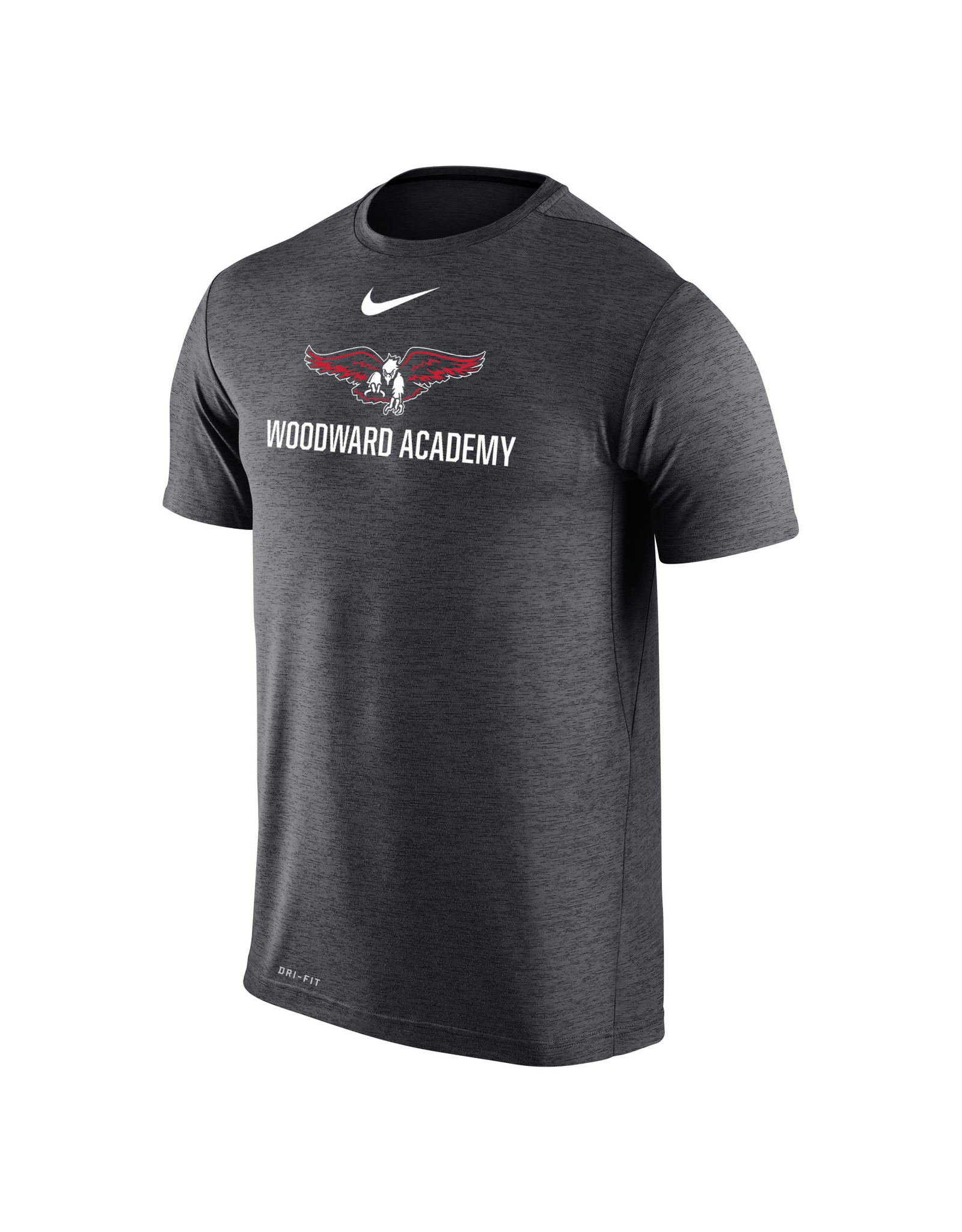 NIKE Coaches Dri-Fit T Shirt in Anthracite