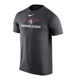 NIKE Coaches Dri-Fit T Shirt in Anthracite (LARGE)