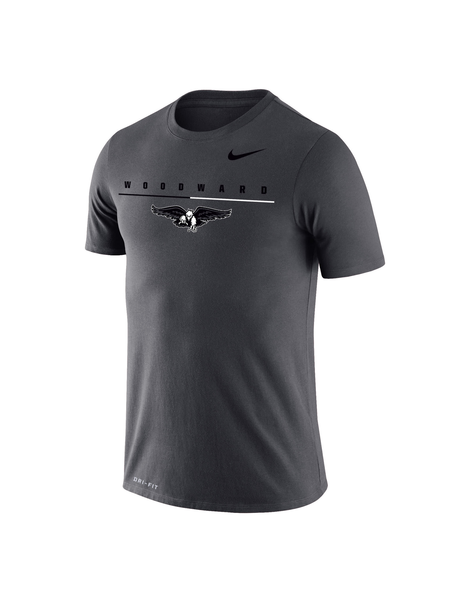 NIKE Legend Dri-Fit SS T Shirt in Anthracite