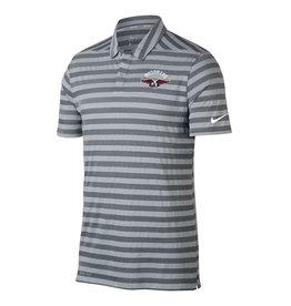NIKE Dry Stripe SS Polo in Wolf Grey
