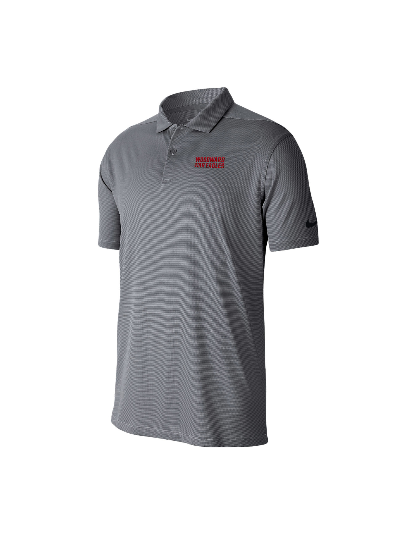 NIKE Victory Texture SS Polo in Grey