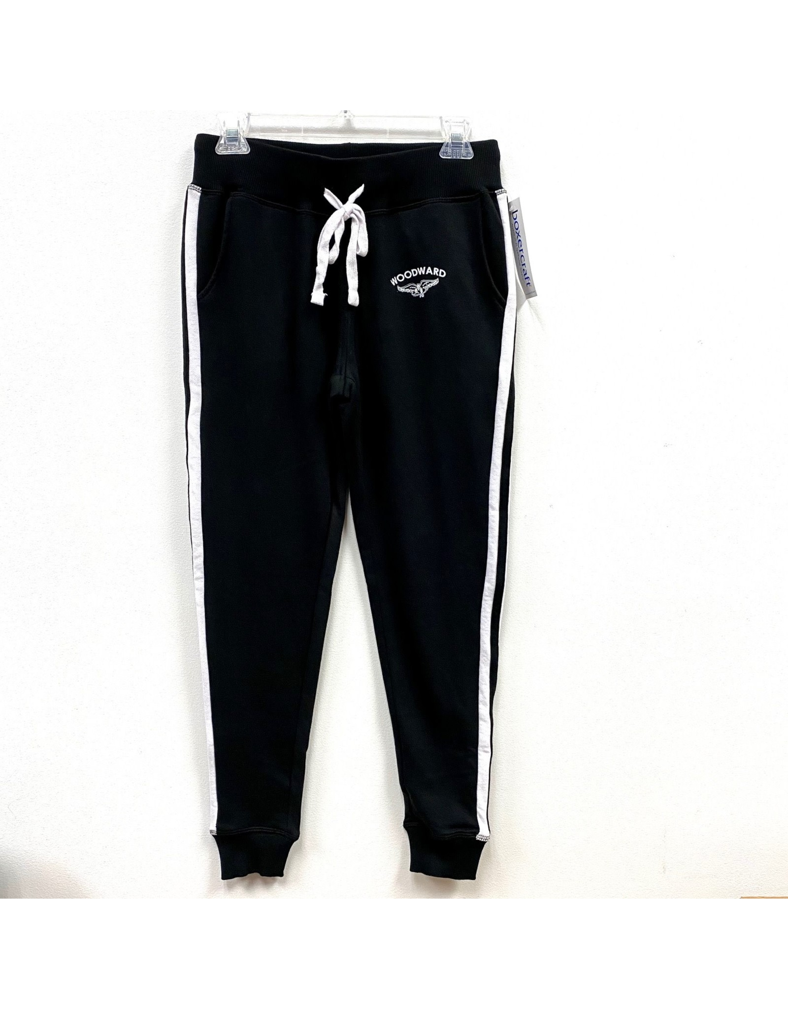 Boxercraft Ladies Jogger Sweatpants in Black
