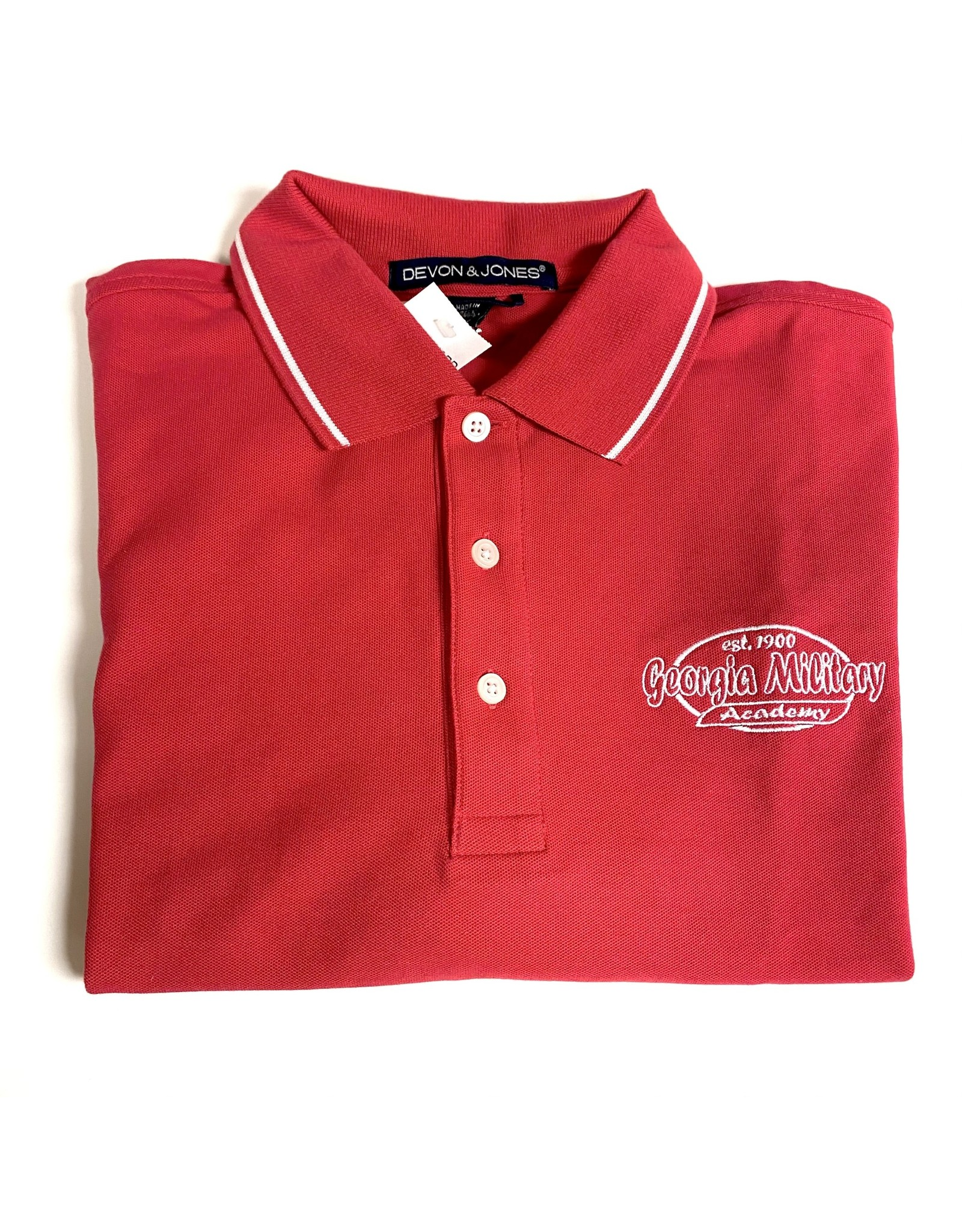 GMA SS Polo in Red