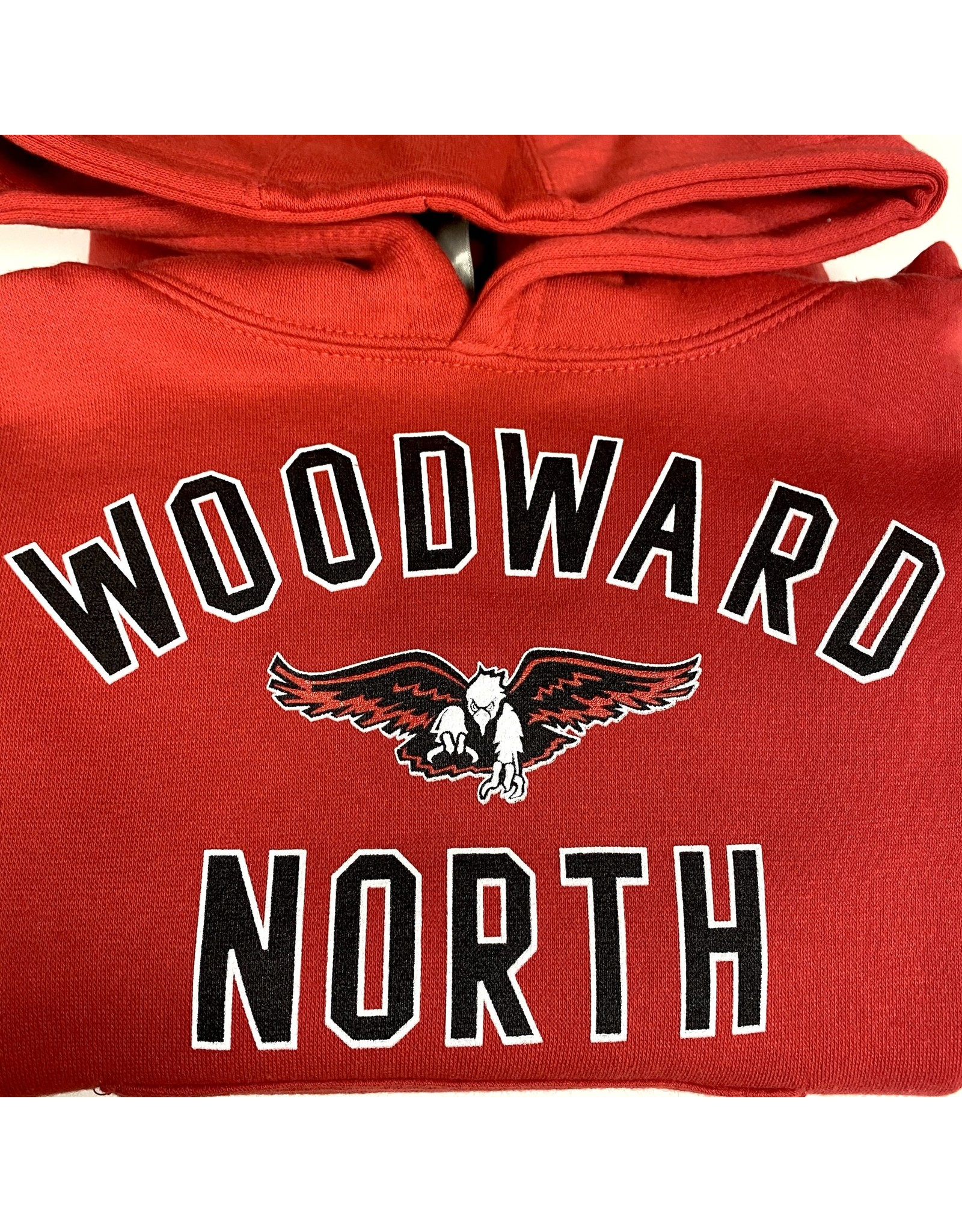Ouray WN Youth Hooded Sweatshirt in Red