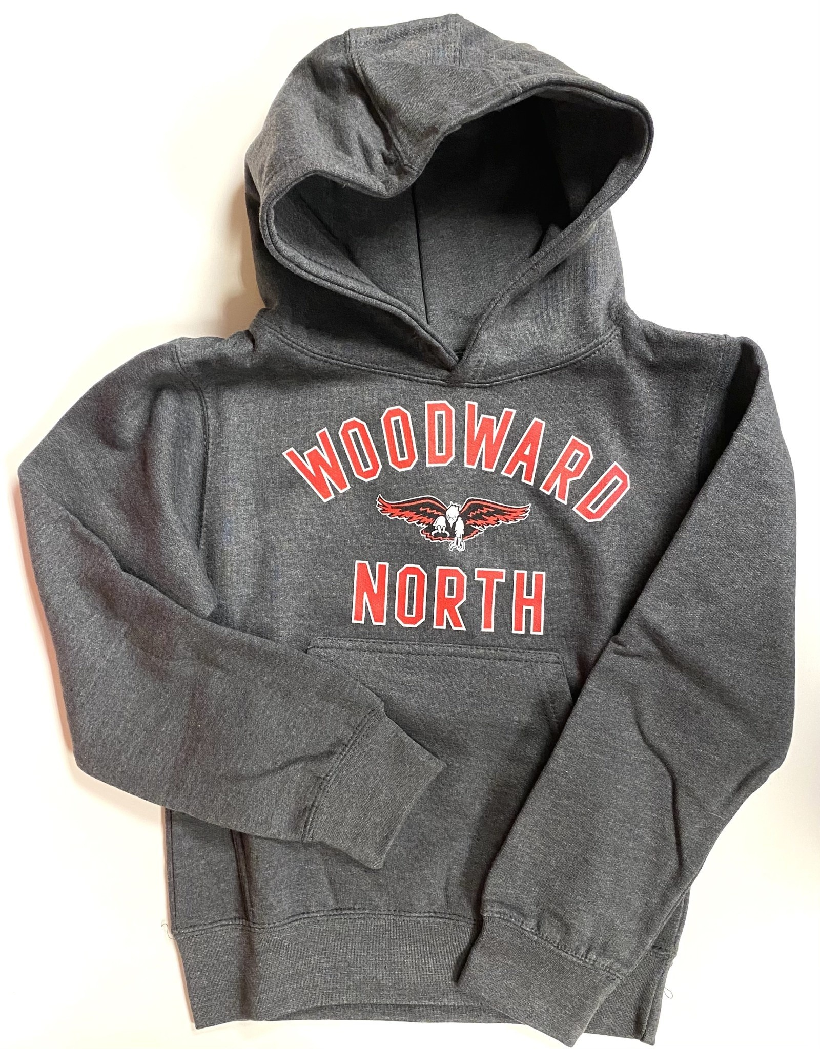Ouray WN Youth Hooded Sweatshirt in Grey