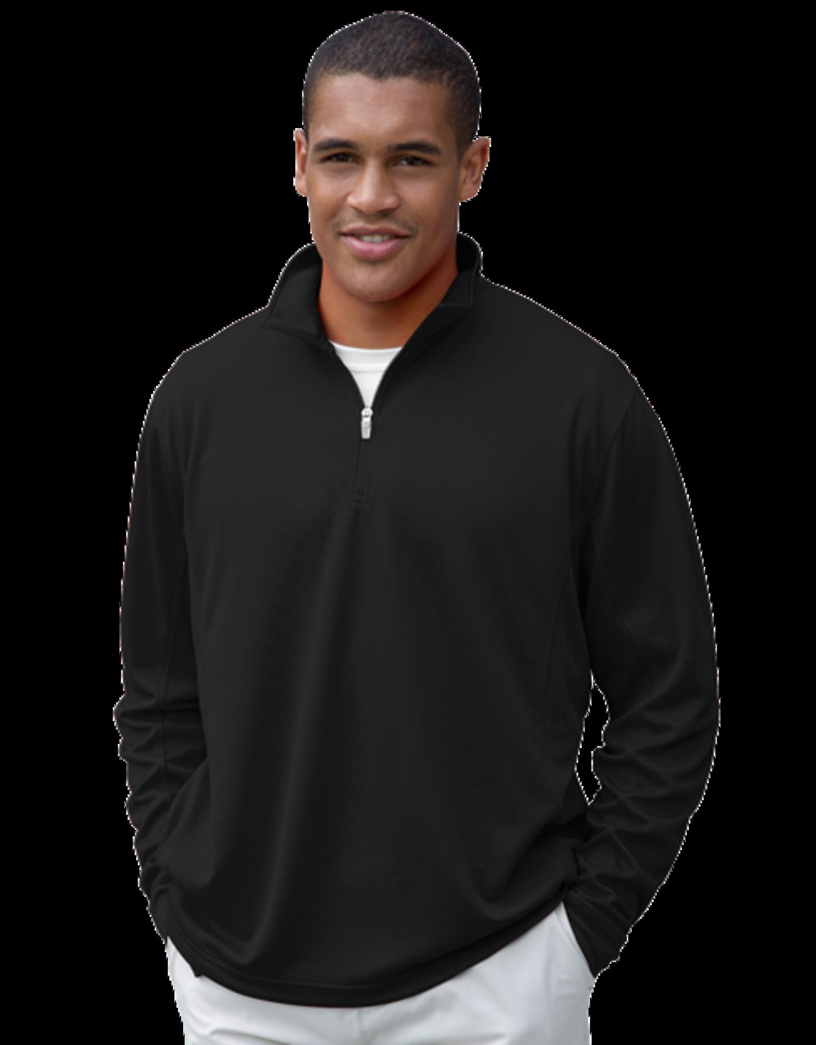 WN 1/4 Zip Pullover in Black