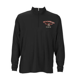 WN 1/4 Zip Pullover in Black