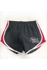 BSN Ladies WA Black/Red Shorts