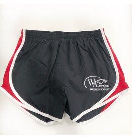 NIKE Ladies WA Black/Red Shorts