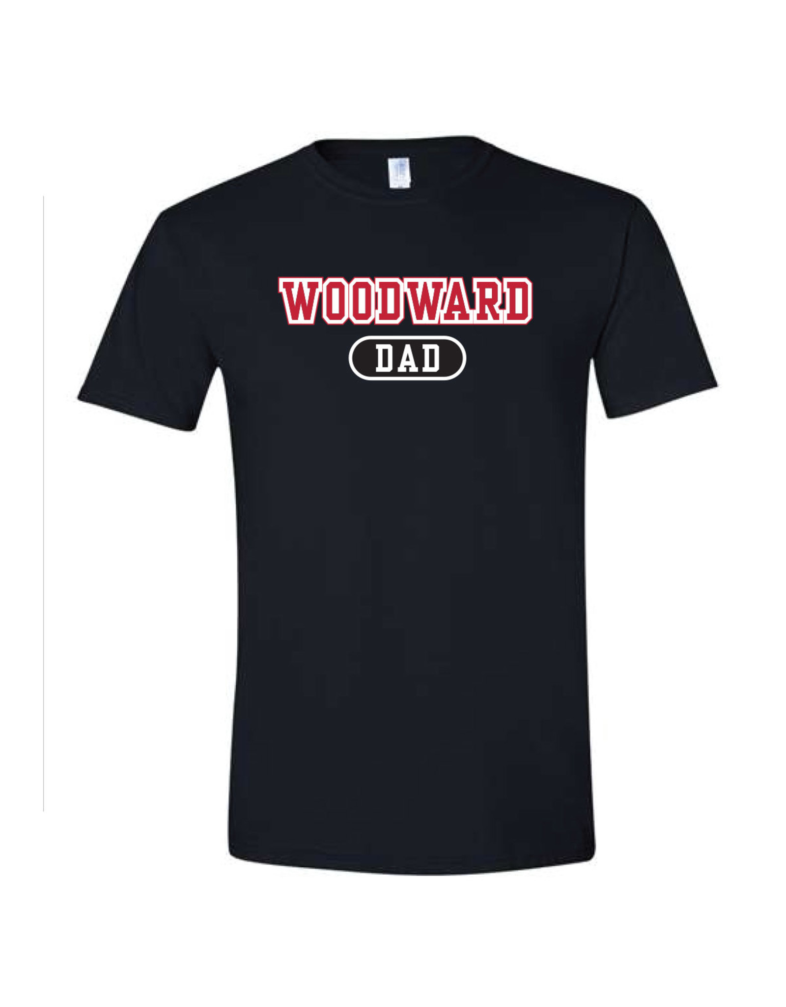 Ouray Woodward Dad SS T Shirt in Black