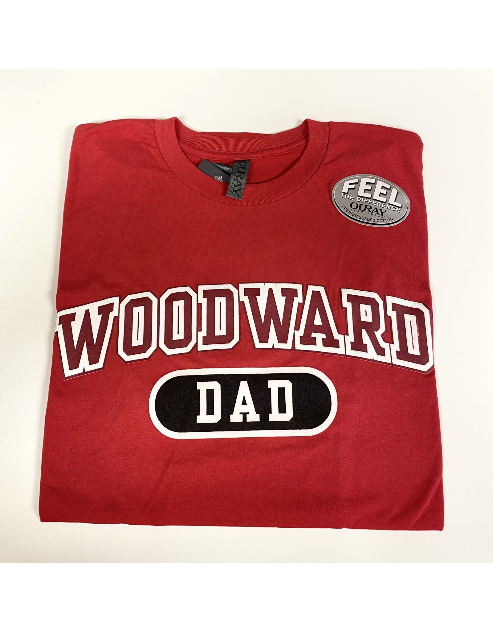 Ouray Woodward Dad SS T Shirt in Red