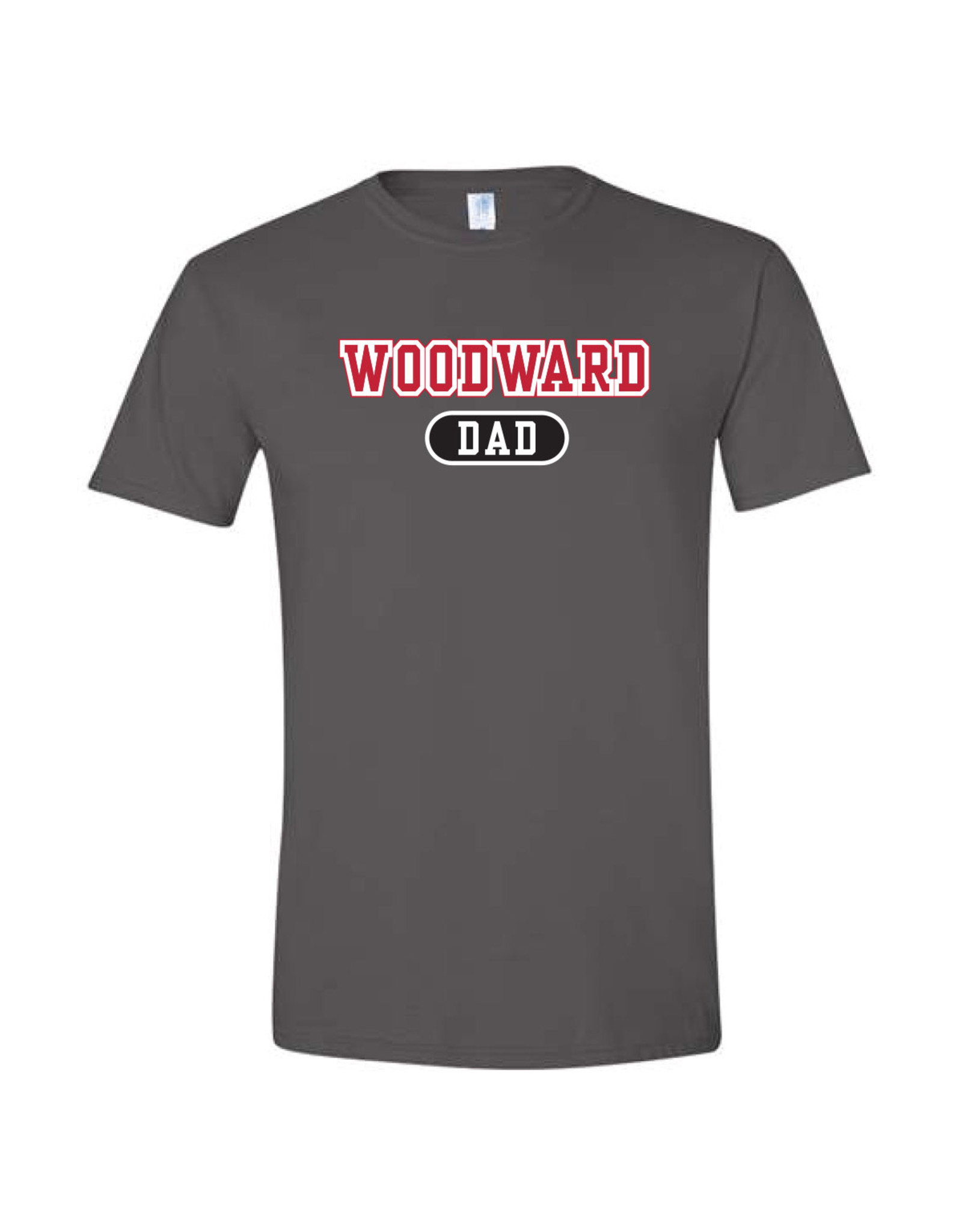 Ouray Woodward Dad SS T Shirt in Grey