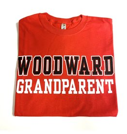 Ouray Woodward Grandparent SS T Shirt in Red