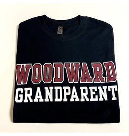 Ouray Woodward Grandparent SS T Shirt in Black