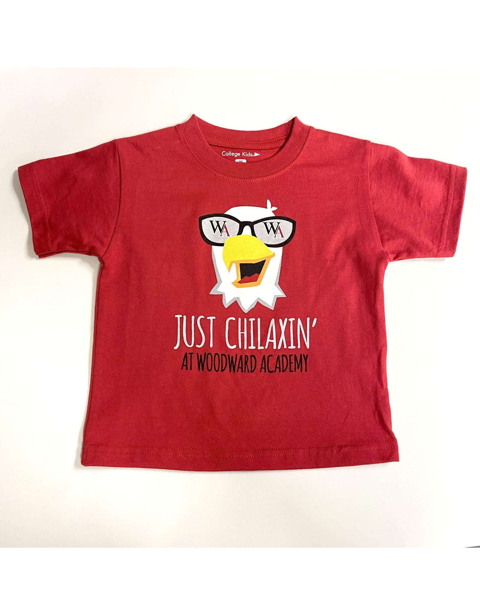 College Kids 'Chilaxin' Eagle Toddler T Shirt