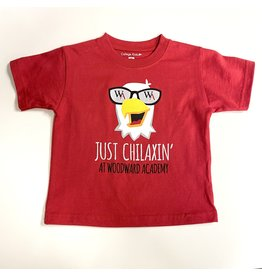 "College Kids Toddler T Shirt ""Chilaxin' Eagle"