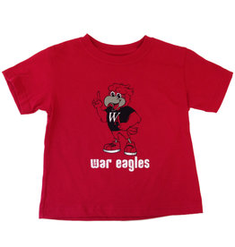College Kids Toddler T Shirt with Eddie the Eagle