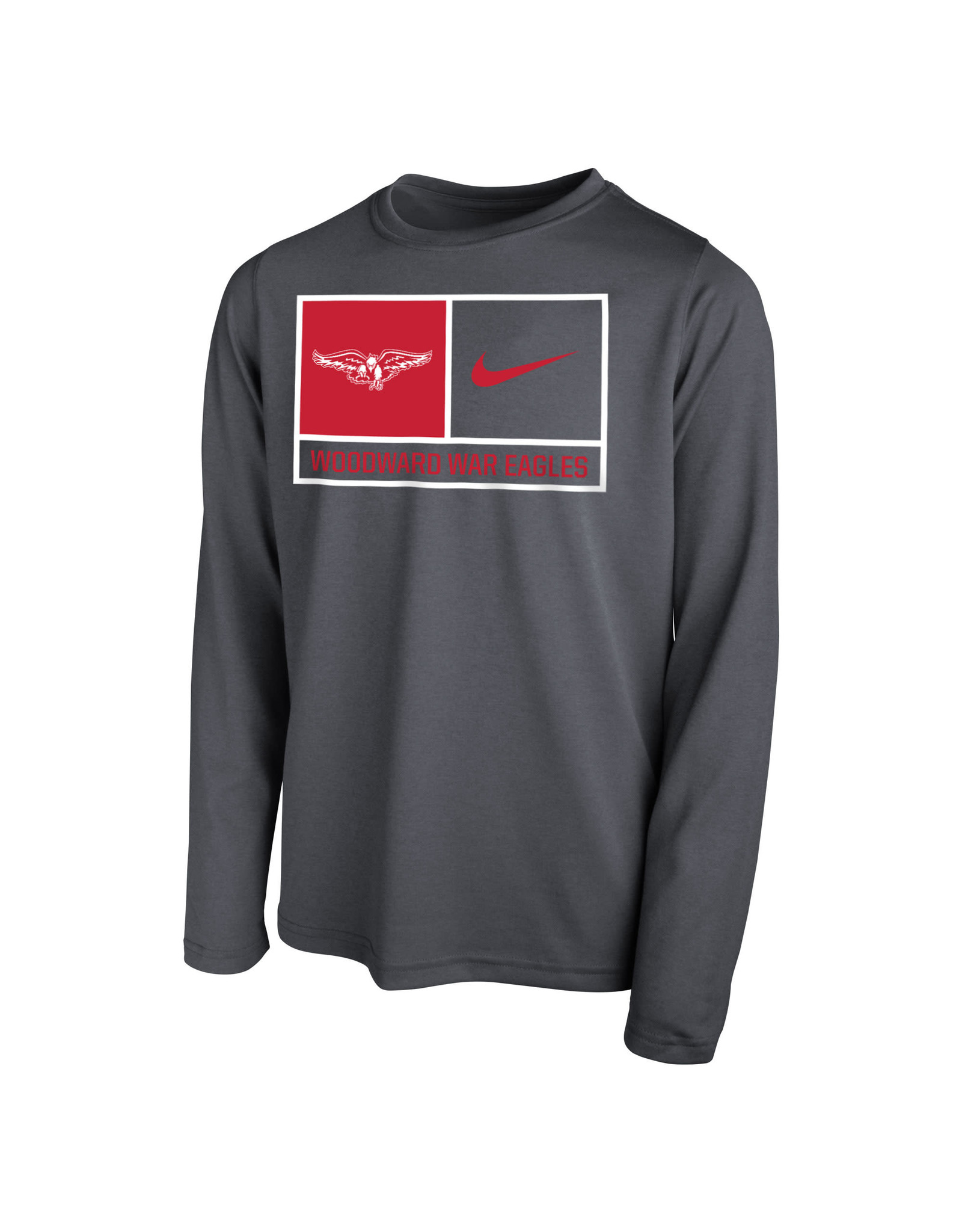 NIKE Youth Legend LS T Shirt in Anthracite