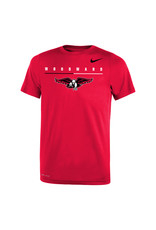 NIKE Youth Legend SS Tee in Red by NIKE
