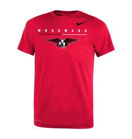 NIKE Youth Legend SS Tee in Red