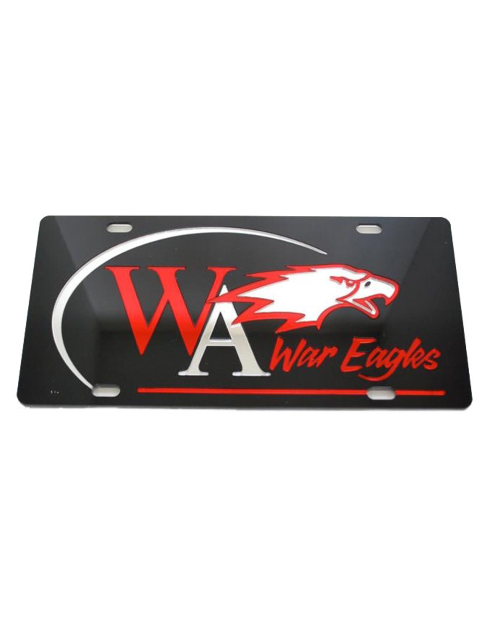 WinCraft License Plate Mirrored