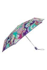 Umbrella in Heather Paisley