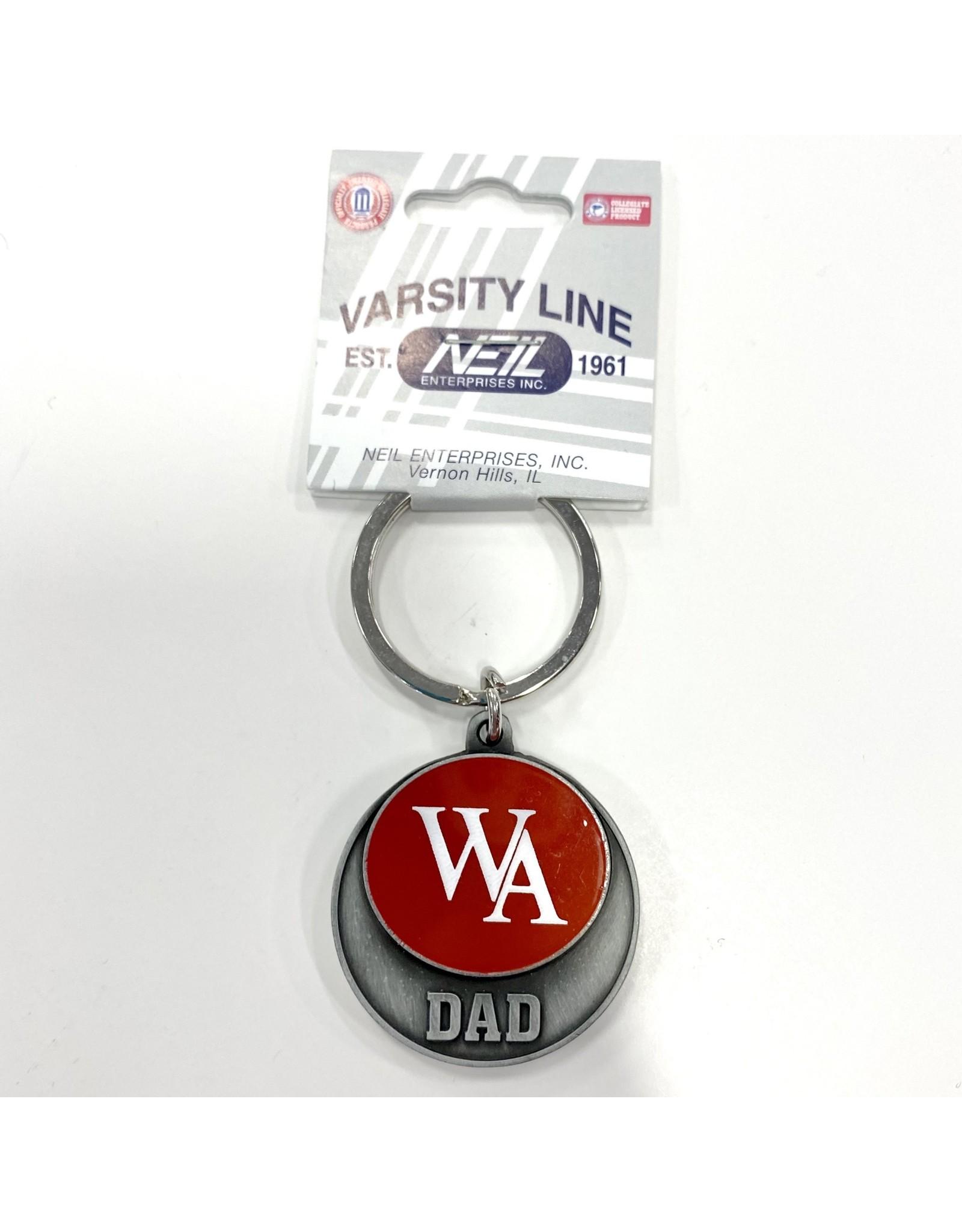 Neil Enterprises WA Dad Key Chain