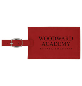 LXG LUGGAGE TAG LXG VELOUR LEATHER