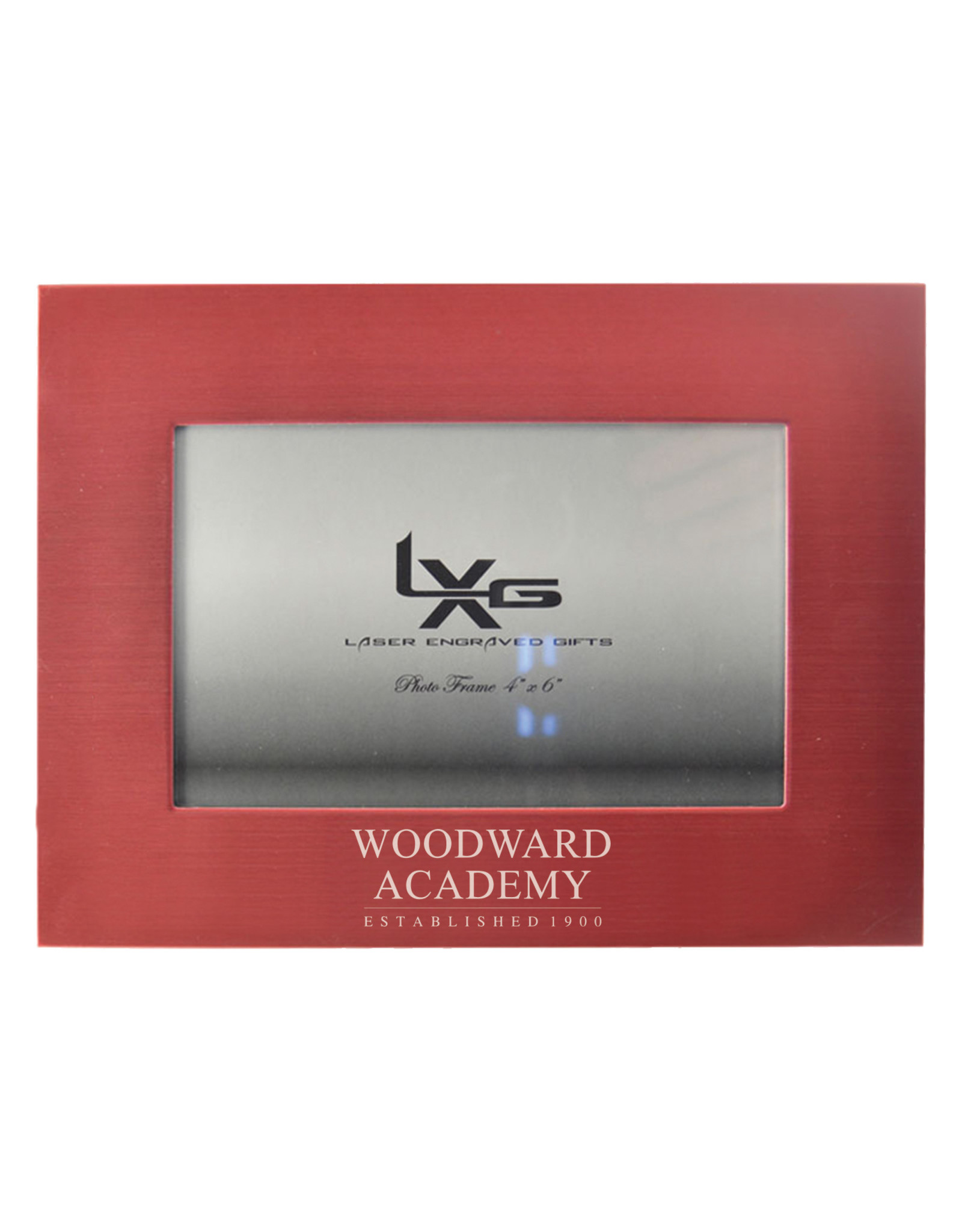 LXG Frame - 4x6 Red Matte by LXG