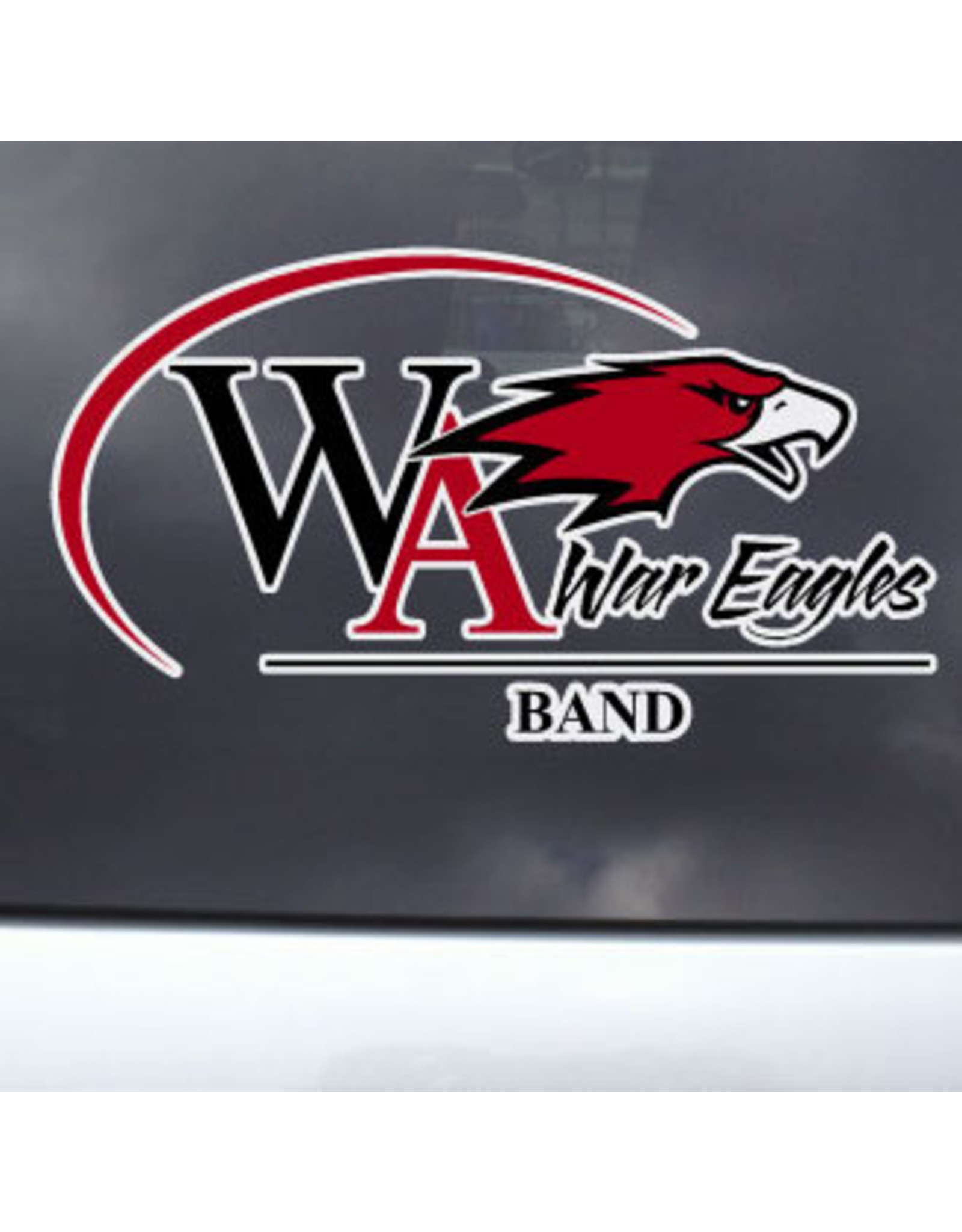 Color Shock Athletic Decal -  Band
