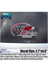 Color Shock Athletic Decal -  Baseball