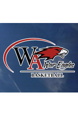 Color Shock Athletic Decal -  Basketball