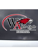 Color Shock Athletic Decal -  Football