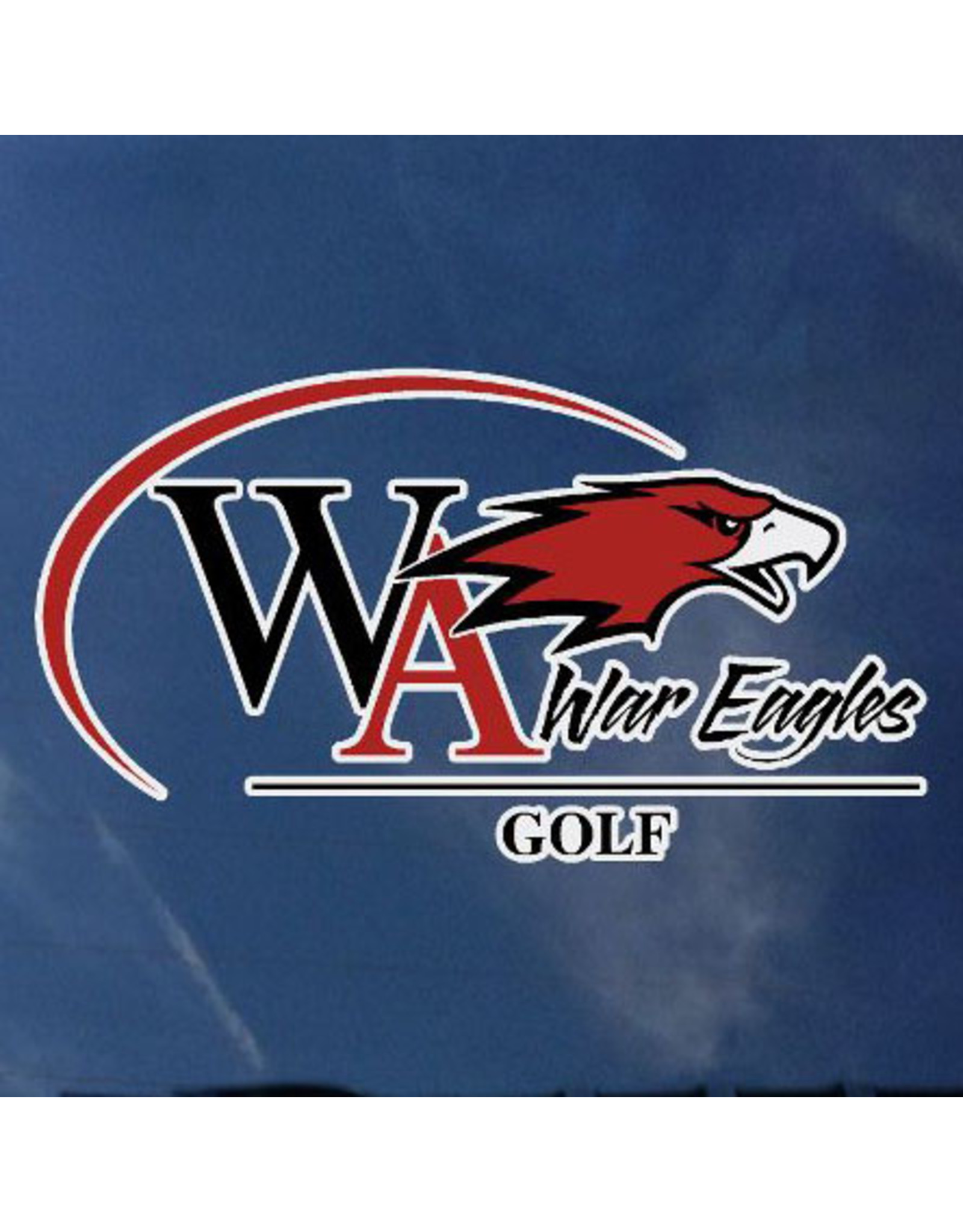 Color Shock Athletic Decal -  Golf
