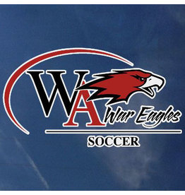 Color Shock Athletic Decal -  Soccer