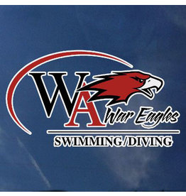 Color Shock Athletic Decal -  Swimming/Diving