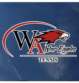 Color Shock Athletic Decal -  Tennis