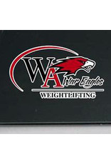 Color Shock Athletic Decal -  Weightlifting