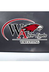 Color Shock Athletic Decal -  Wrestling