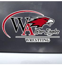 Color Shock Athletic Decal -  Wrestling