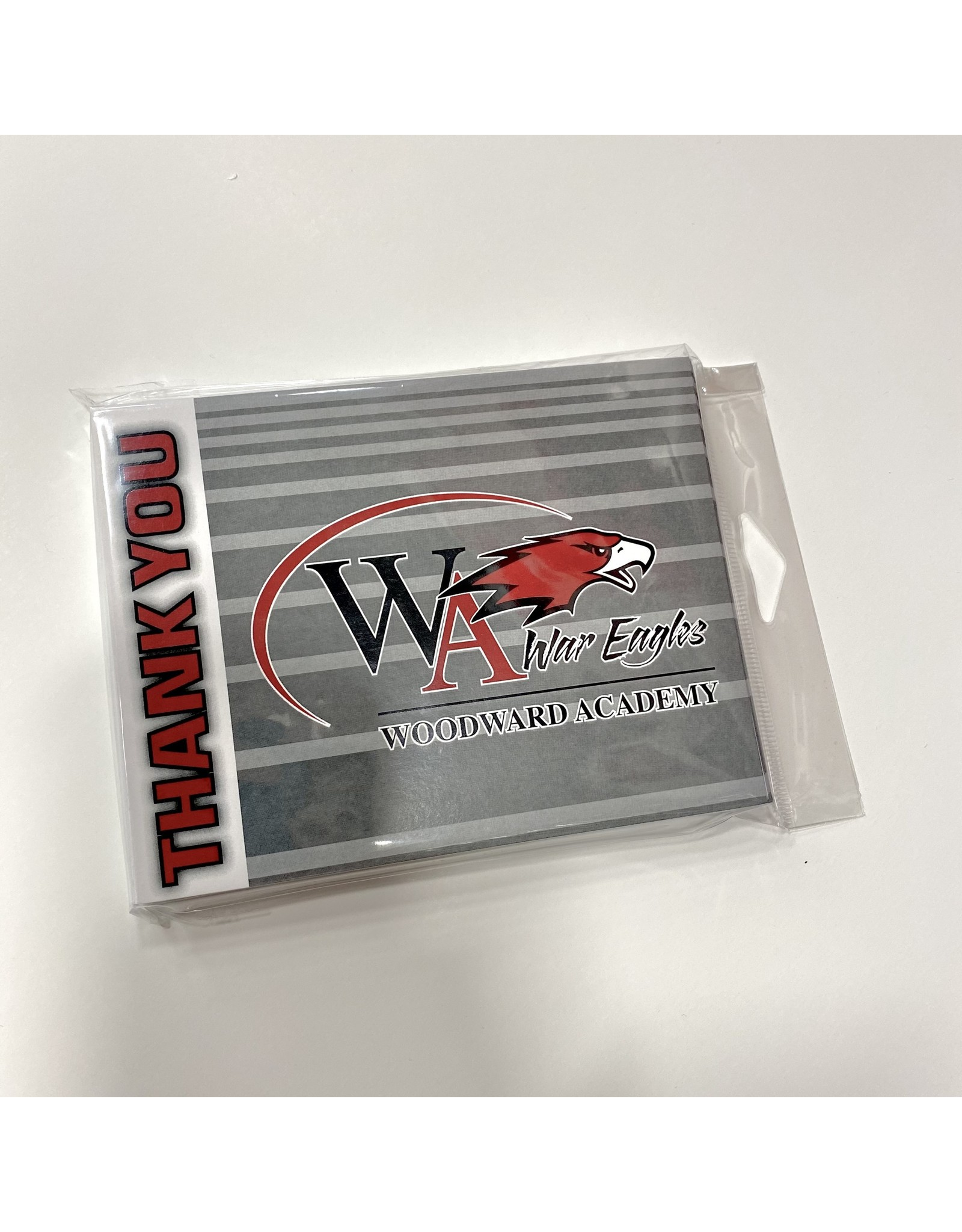 Fanatic Group STATIONERY THANK YOU ATHLETIC LOGO (QTY 10)