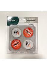 Legacy MAGNET SET OF 4