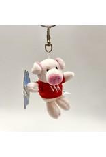 Mascot Factory PLUSH KEYCHAIN PIG