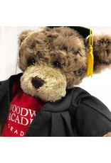 PLUSH GRAD CHARLIE BEAR WITH RED TEE