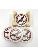 Neil Enterprises Set of 4 Thirsty Stone Coasters (2 styles)